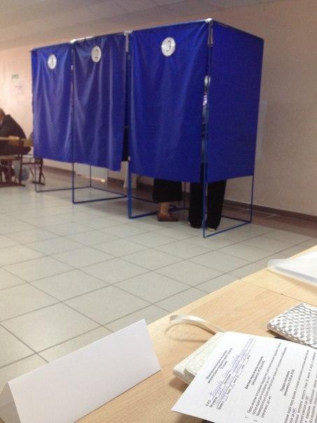 кабинка для голосования