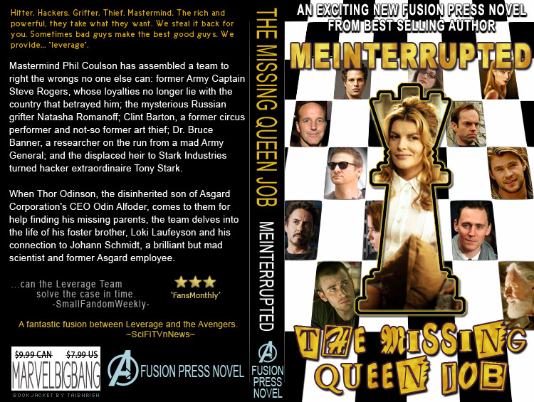 book jacket for meinterrupted's The Missing Queen Job