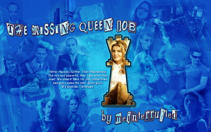 story art blue for meinterrupted's The Missing Queen Job