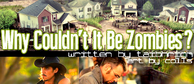 story banner for Why Couldn't It Be Zombies