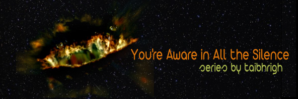 Cover Art for You're Aware in All the Silence