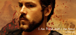 banner for I Am Flesh and I Am Bone created by siluria