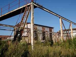 Руїни підприємства Полярон