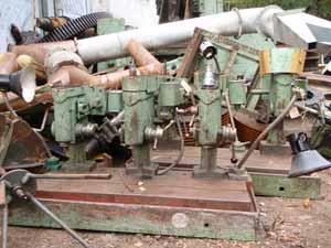 Понищені деталі приладів перед відправкою на металолом та драгметали