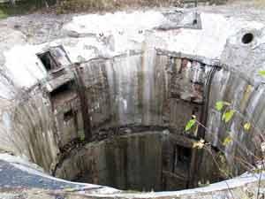 Зруйновані ракетні шахти