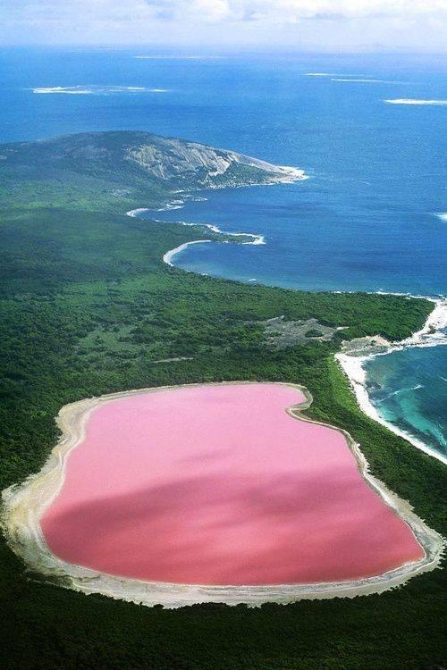2 Pink Lake, Australia