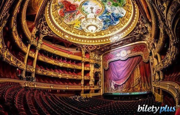 7 d Опера Гарнье в Париже, Франция