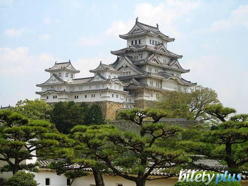 8 c Замок Белой Цапли, Япония