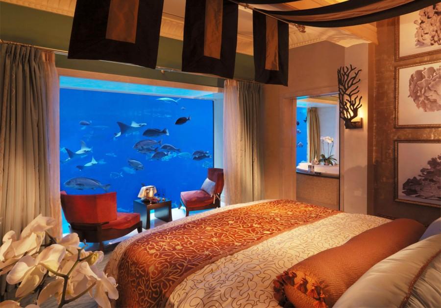 Дубаи, Атлантис, Подводный суит