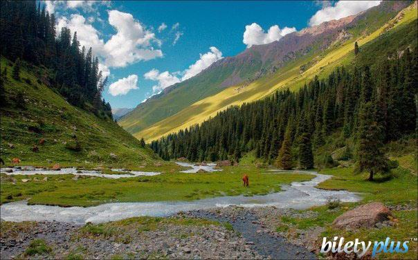 Долина Тянь-Шань, Кыргызстан