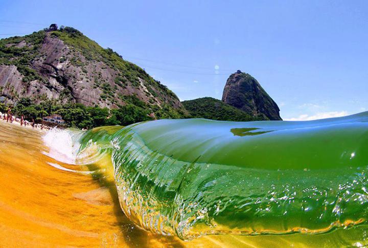 Красный пляж Рио-де-Жанейро, Бразилия