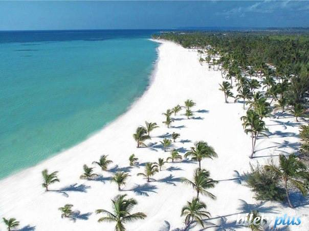 Пляж в Санто-Доминго, Доминикана