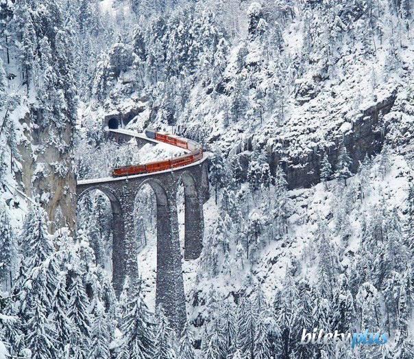 Самая удивительная железная дорога, Швейцария