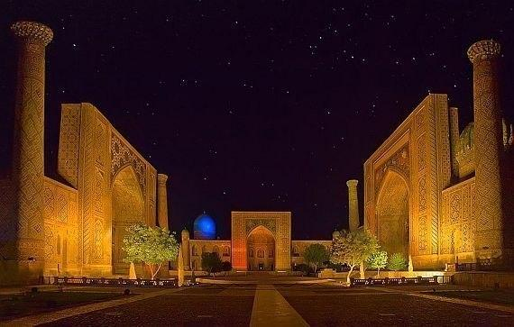 Регистан Сердце Самарканда