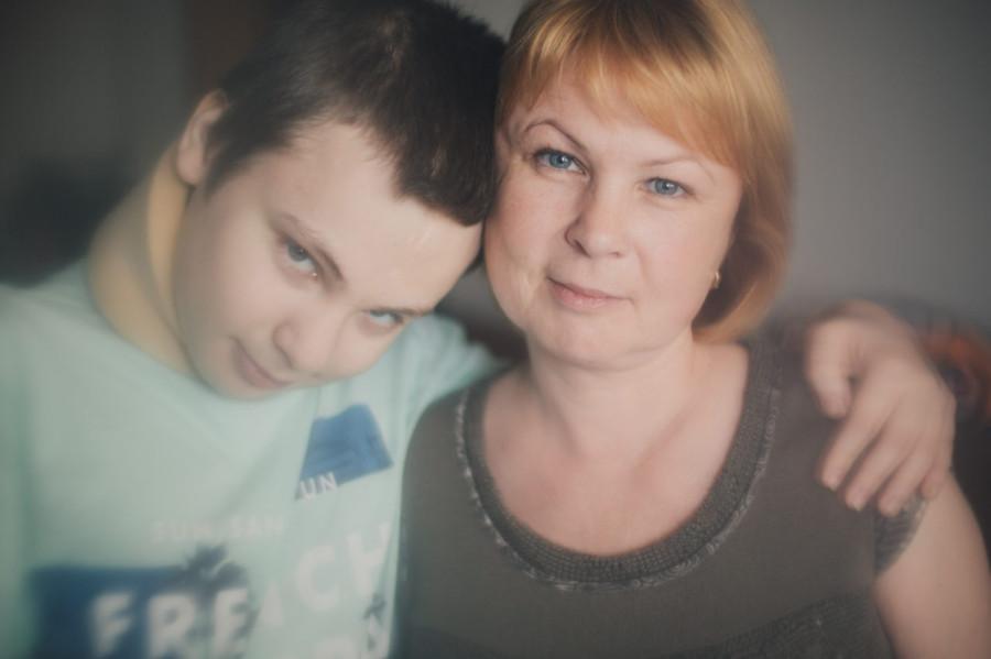 У сына длинние хрен мама увидела случаени