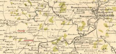 На карте именуется талицкое, талищево: talitza2012.