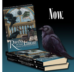 Ravens in the Library - On sale now!