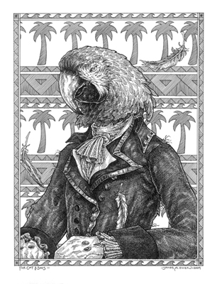 """Parrot Pirate"" by James A. Owen"