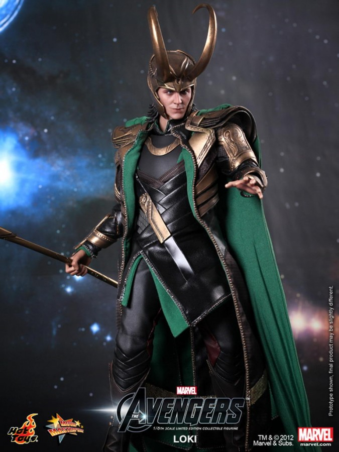 Hot Toys - The Avengers - Loki Limited Edition Collectible Figurine_PR7