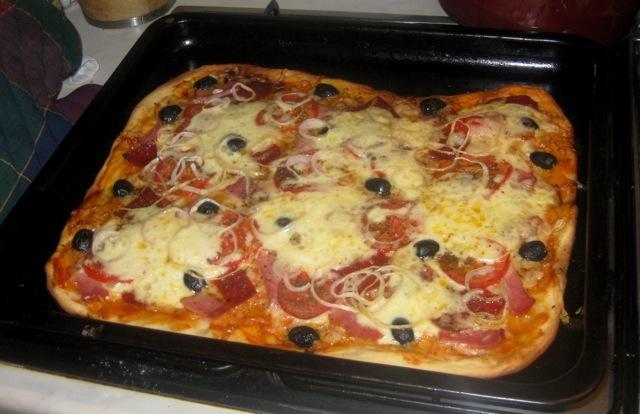 """""""Талулкина пицца"""" (мой фирменный домашний рецепт)"""