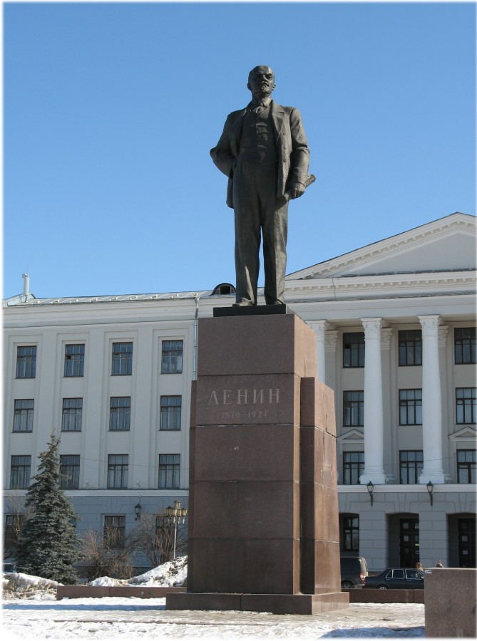 Ленин Псков