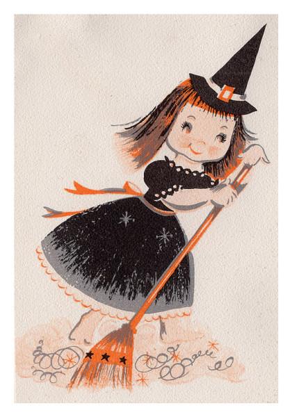 Vintage Witchgirl