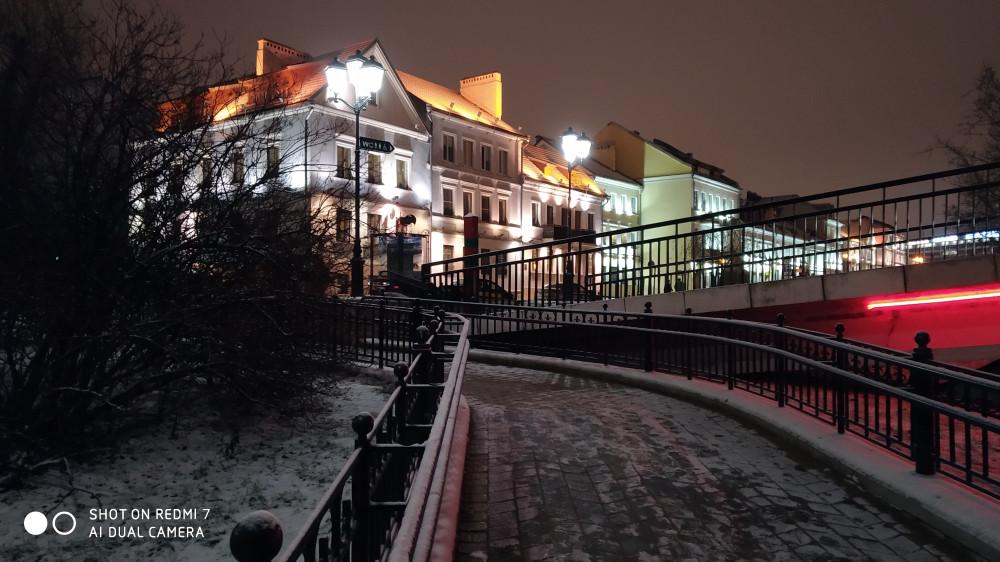 Постройки 19 века. Праздничное освещение.