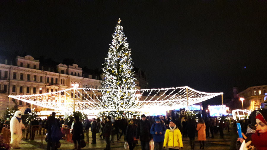 Киев. Новогодняя ярмарка