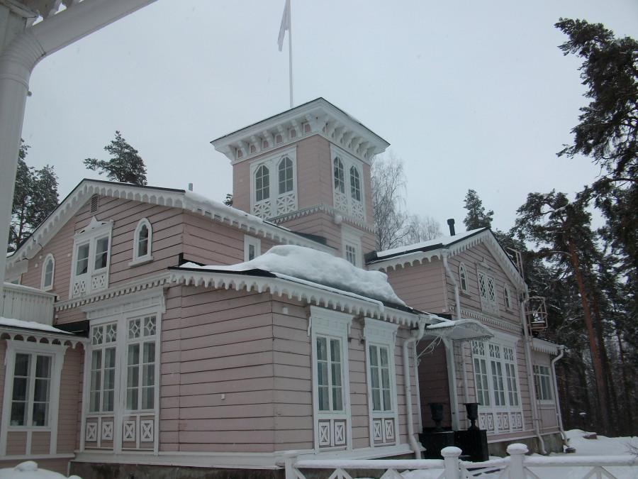 Домик лесничего или первый туристический отель Финляндии