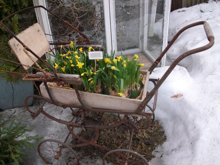 Украшения для дома и сада в Финляндии...