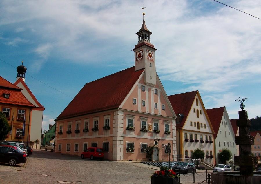 Маленький городок в Баварии