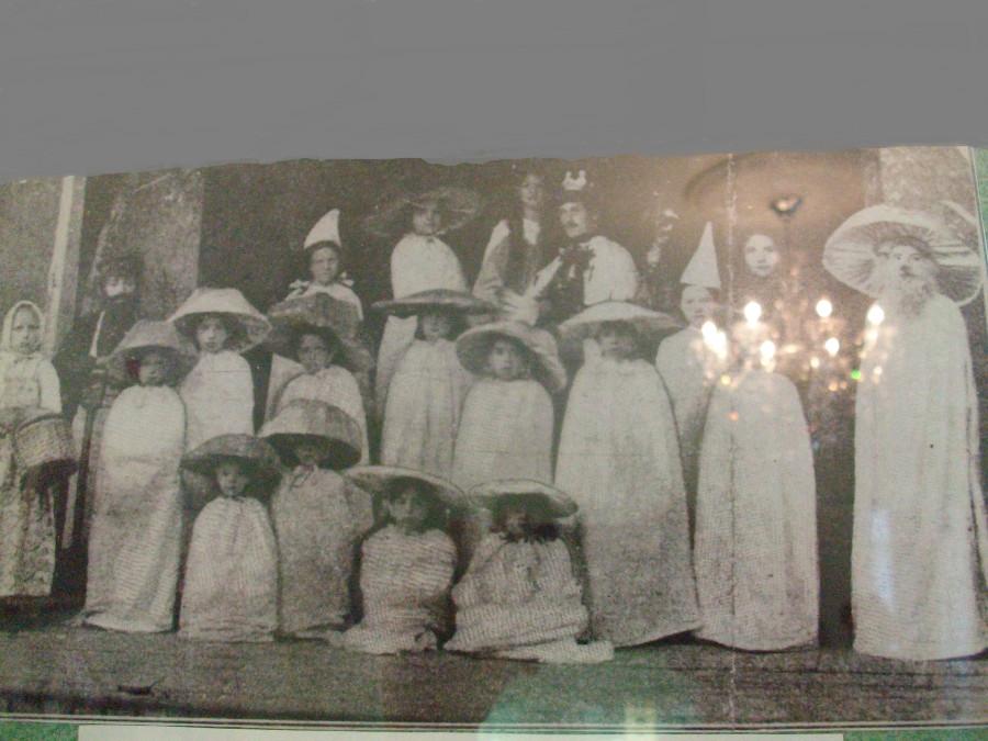 Любительские театры начала 20 века.
