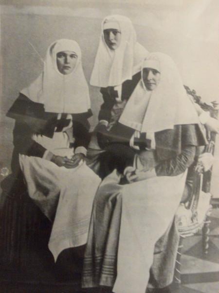 Форменное платье сестер милосердия времен Первой мировой войны