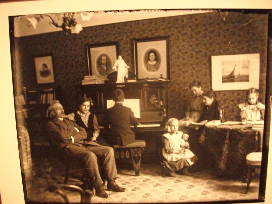 Старое фото из краеведческого музея, быт...