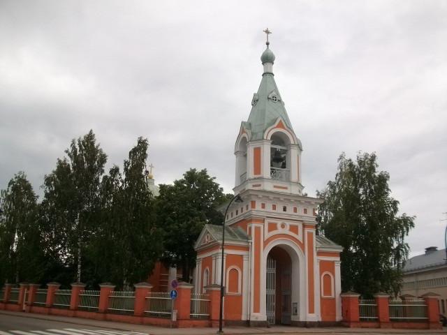 Церковь и колокольня Апостолов Петра и Павла в Хамине