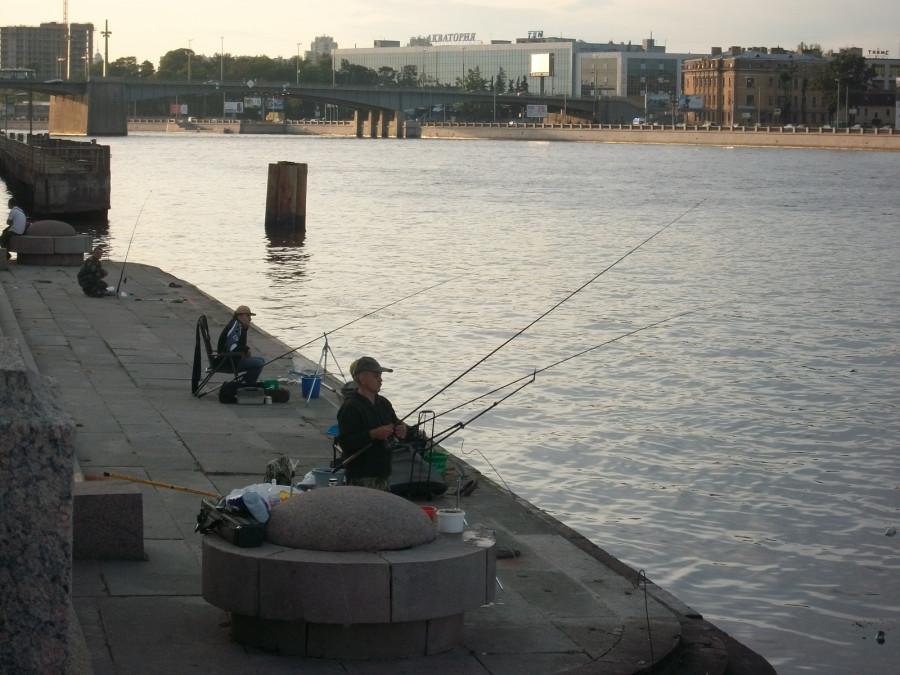 Рыбалка на неве корюшка