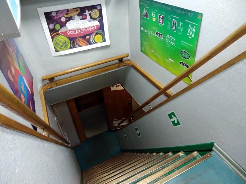 Лестница на ледоколе Ленин
