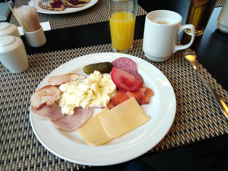 Завтрак в отеле