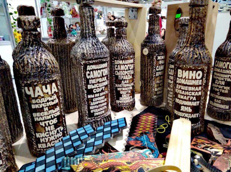 Авторские бутылки