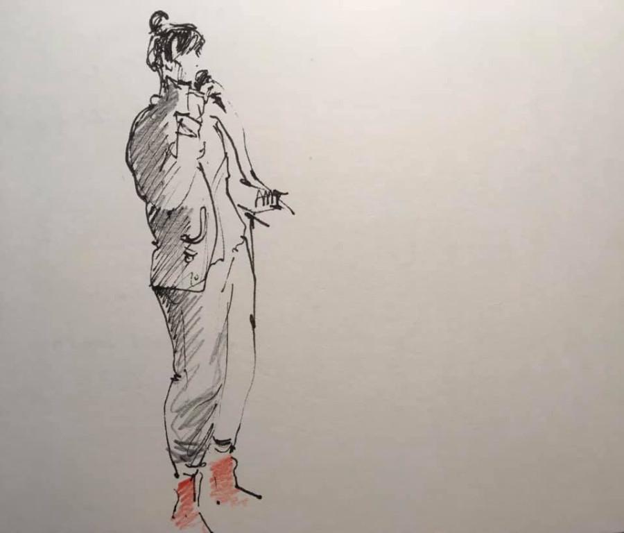 Яна Франк, рисунок Елены https://hohkeppel.livejournal.com/