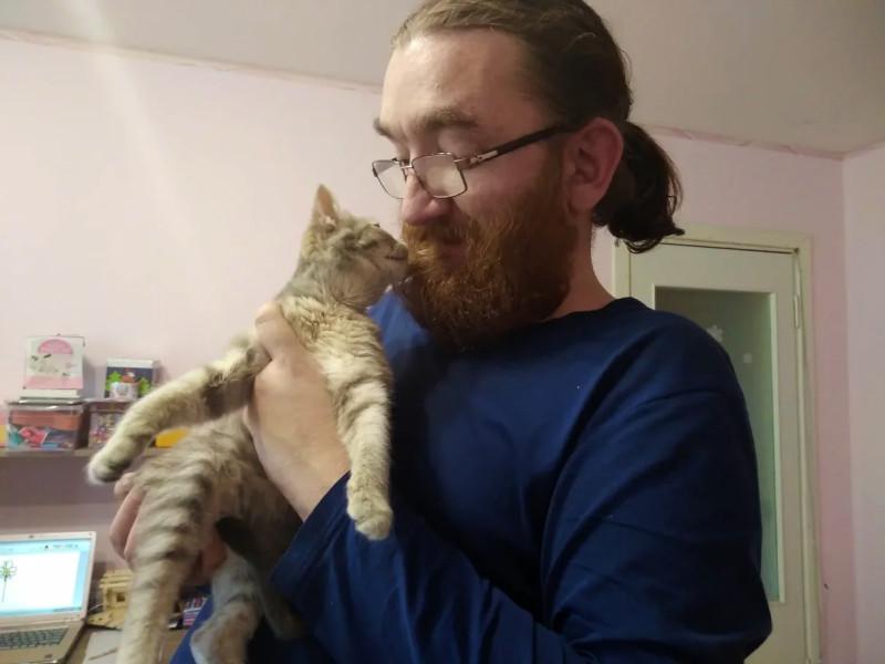 Сима с моим мужем Алексеем https://pryanik.livejournal.com/