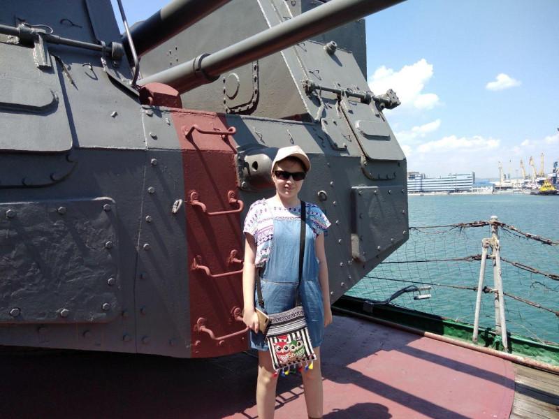 Вооружение крейсера