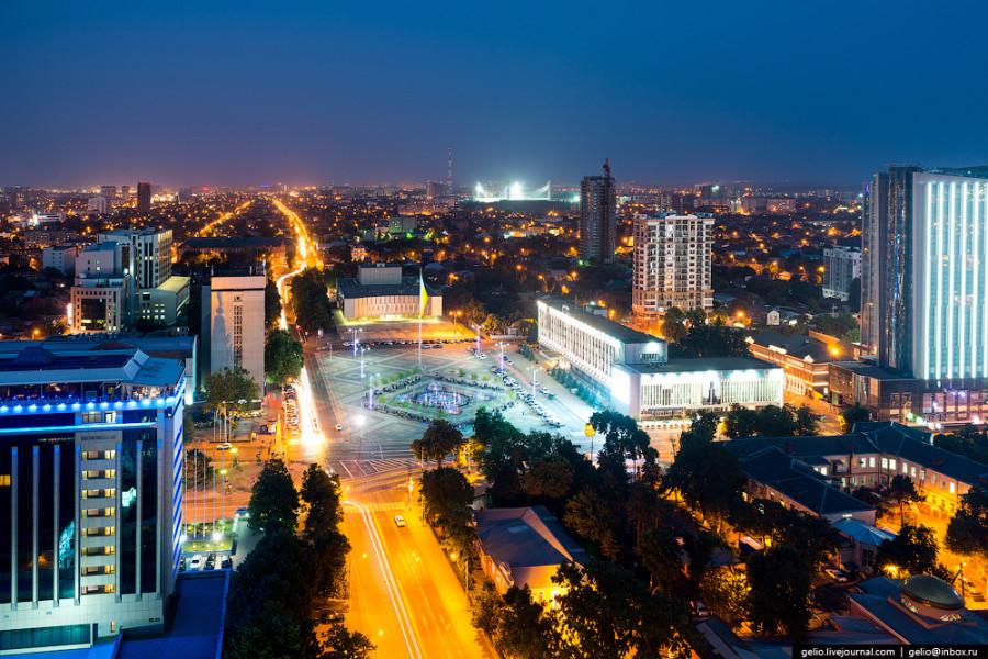 Краснодар, автор фотографии Слава Степанов https://gelio.livejournal.com/