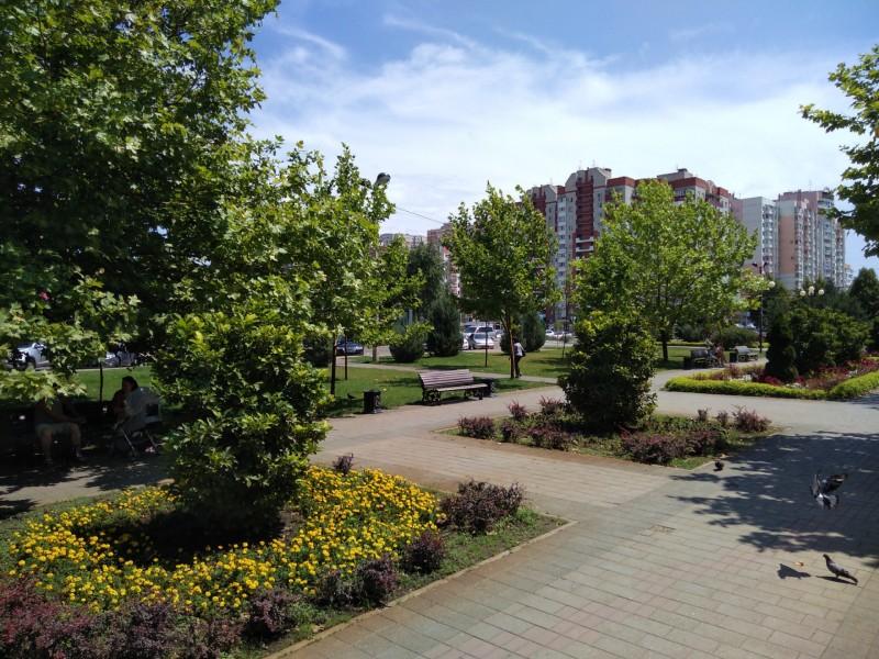 Юбилейный микрорайон Краснодара