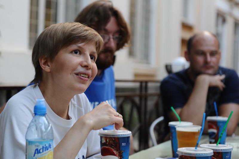 Я на встрече блогеров Краснодара в 2013 году, автор фотографии Василий Смирный (Кублог)