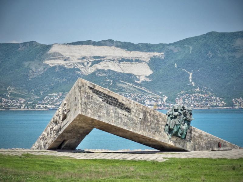 Мемориал Малая Земля, фотография из открытых источников