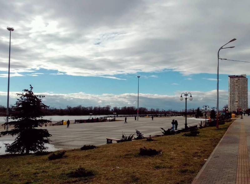 Набережная реки Кубани — Юбилейный микрорайон Краснодара