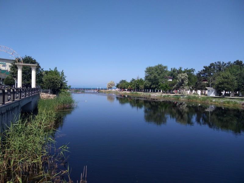 Река Анапка в Анапе