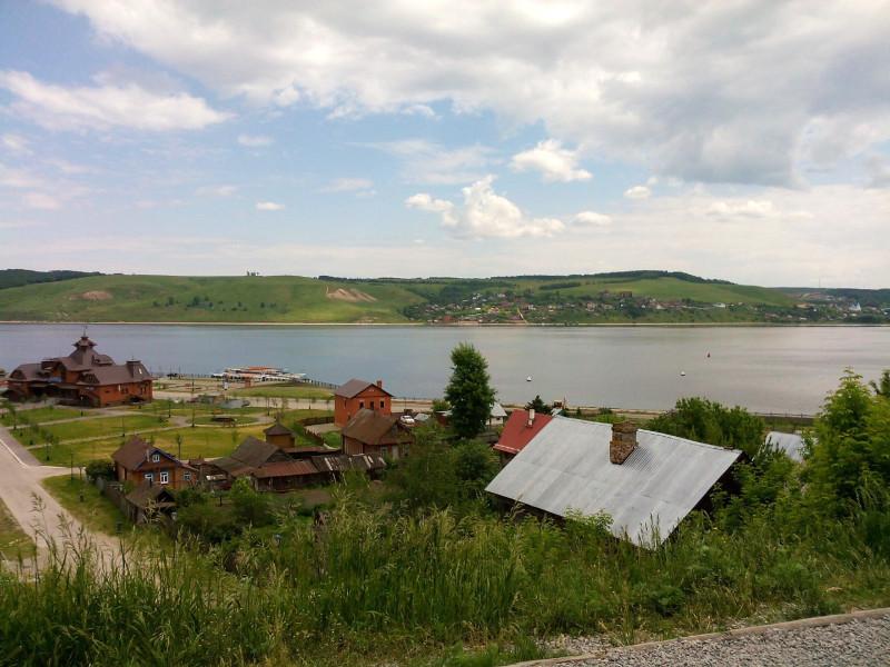 Река Свияга в Свияжске