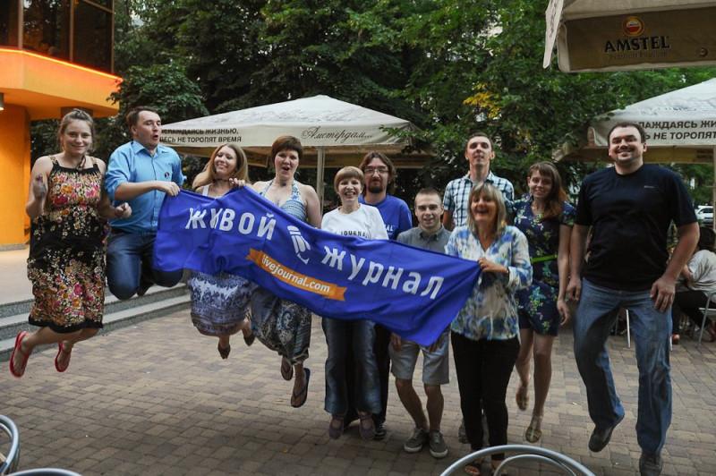 Встреча блогеров в Краснодаре, 2013 год, фотография портала Кублог http://www.kublog.ru/